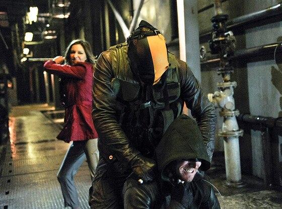 Arrow, Katie Cassidy, Mirakuru Soldier, Stephen Amell