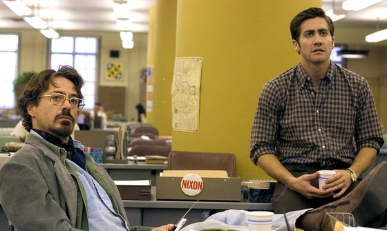 Zodiac, Robert Downey Jr., Jake Gyllenhaal