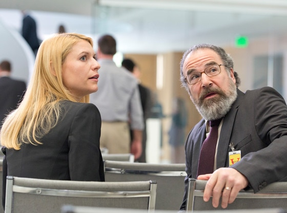 Claire Danes, Mandy Patinkin, Homeland
