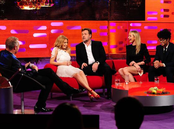 Cameron Diaz, Graham Norton, Kylie Minogue, Russell Crowe, Richard Ayoade, The Graham Norton Show