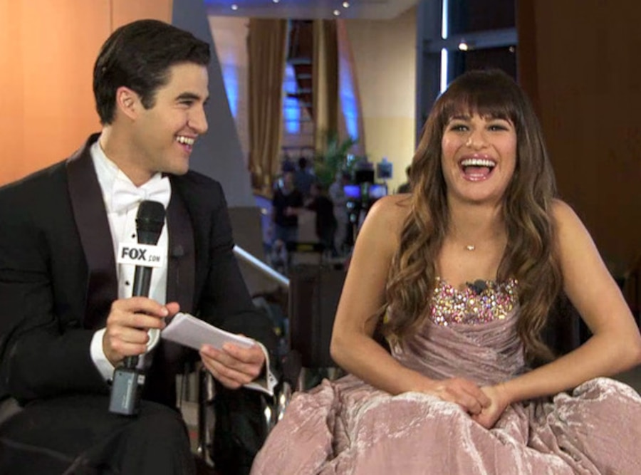 Darren Criss, Lea Michele, Glee