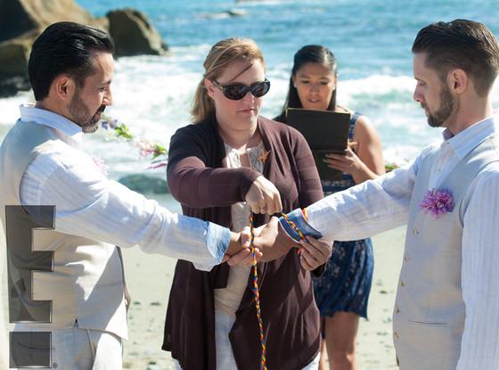 Danny Pintauro, Wil Tabares, Wedding