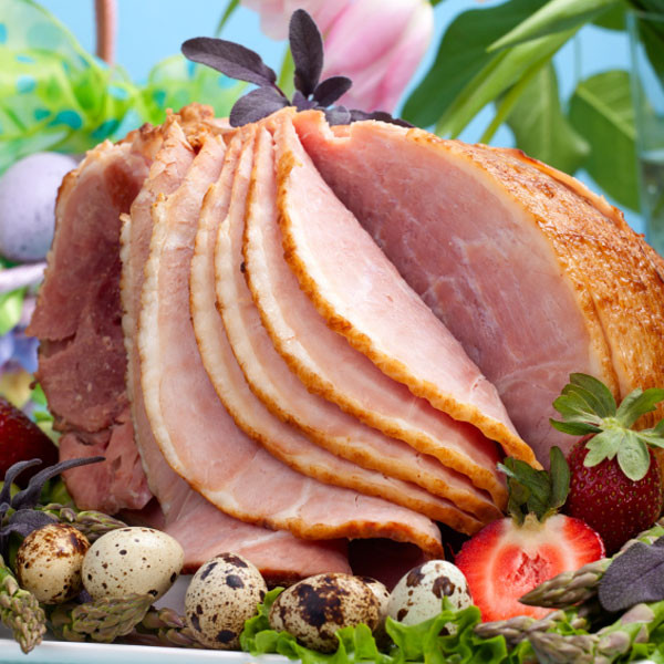 Easter Dinner Recipes, Glazed Ham