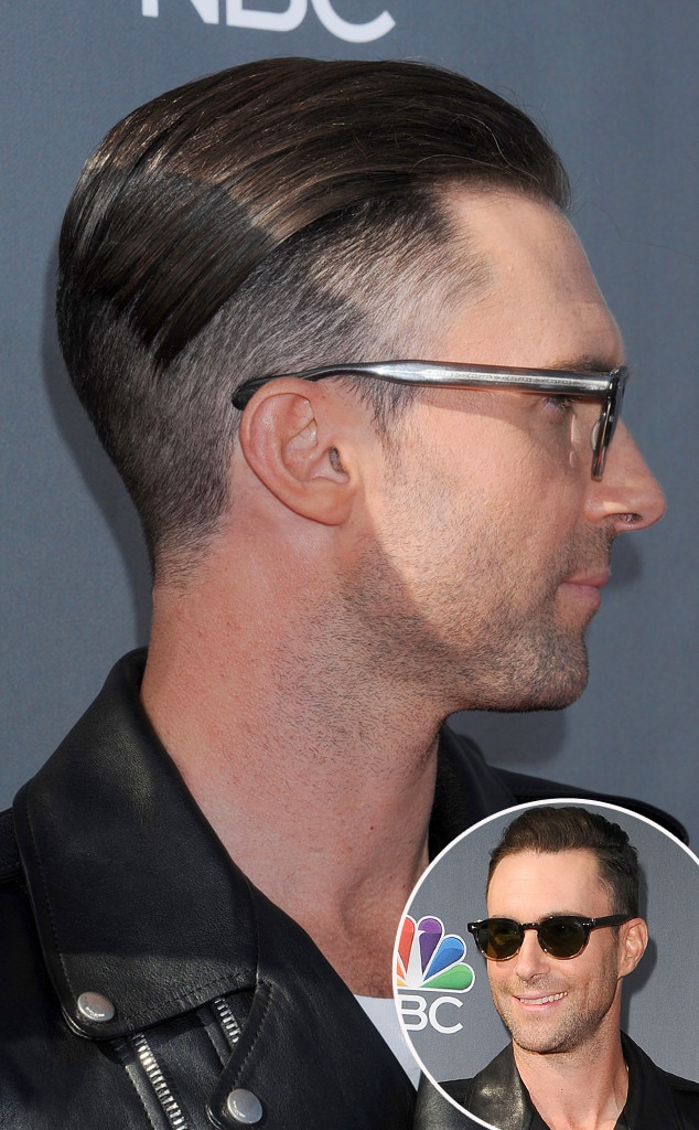 Adam Levine, Shaved Head