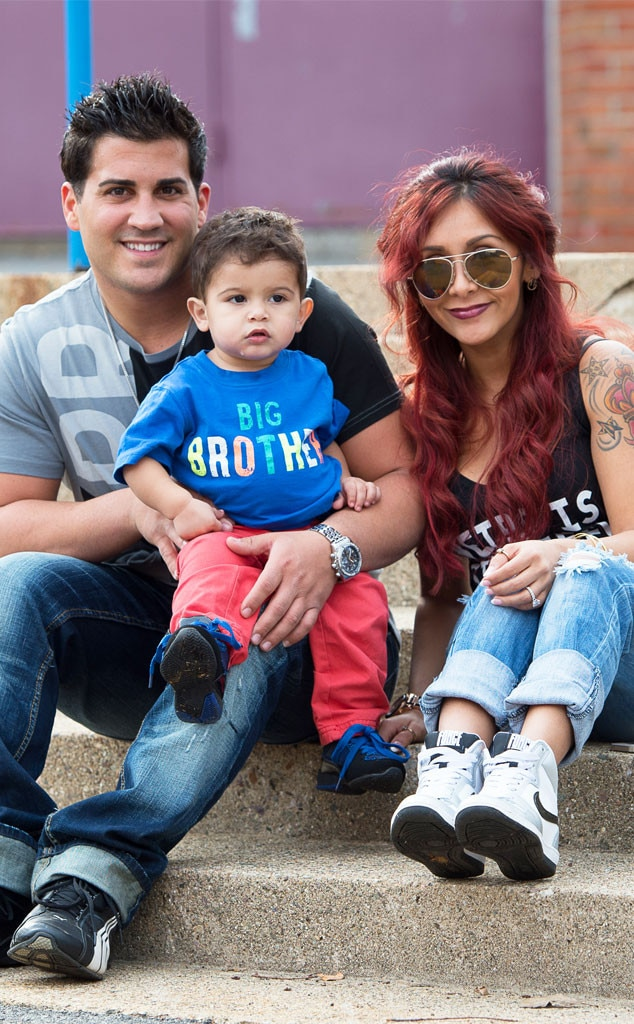 Jionni LaValle, Snooki, Lorenzo, Baby Announcement