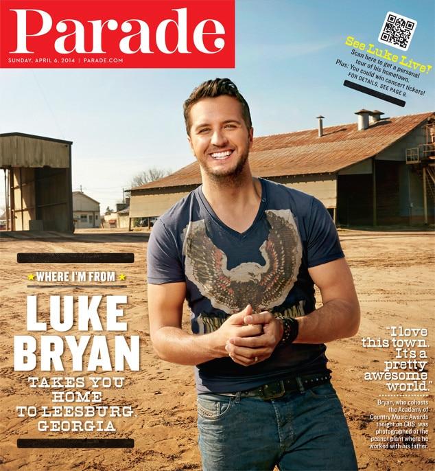 Luke Bryan, Parade Magazine
