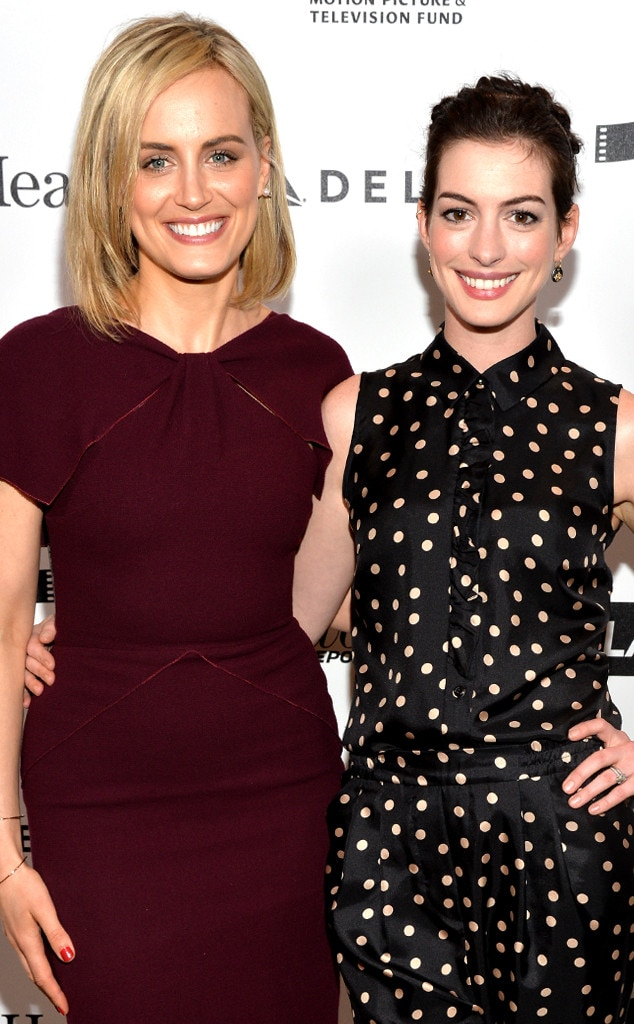 Taylor Schilling, Anne Hathaway