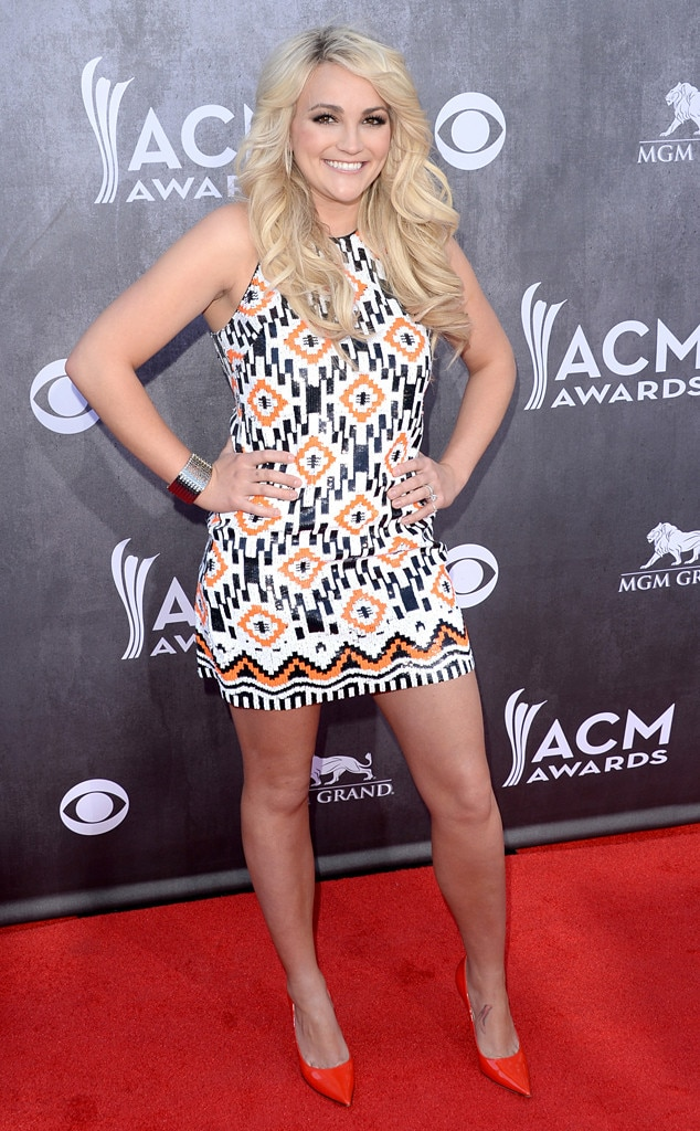 Jamie Lynn Spears, ACM Awards 2014