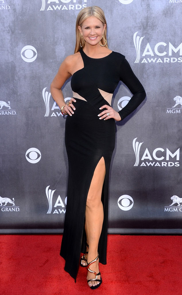 Nancy O'Dell, ACM Awards 2014