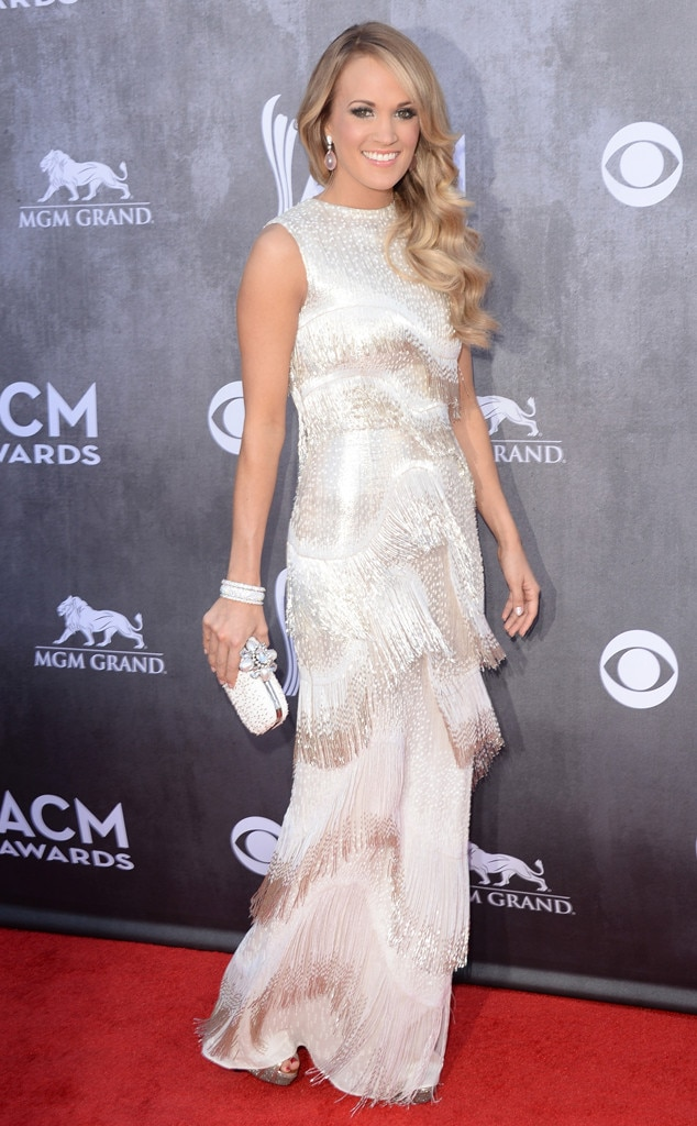 Carrie Underwood, ACM Awards 2014, Oscar de la Renta