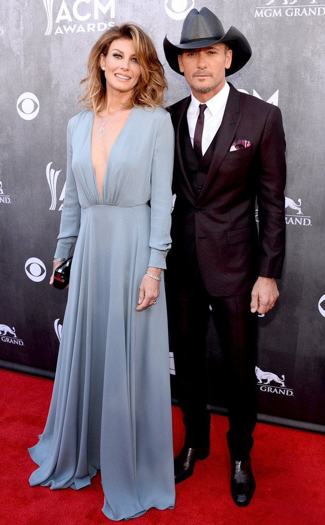 Faith Hill, Tim McGraw ACM Awards 2014