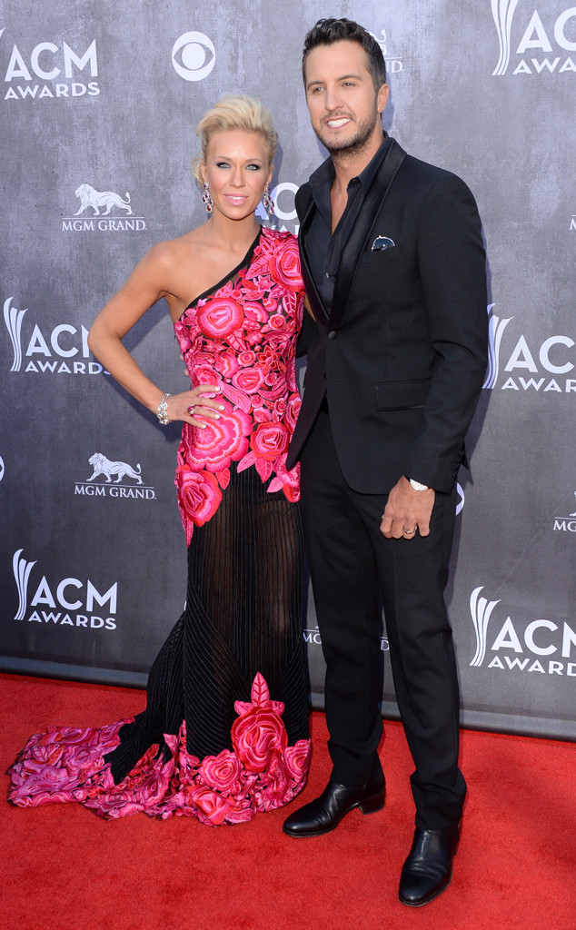 Caroline Bryan, Luke Bryan, ACM Awards 2014