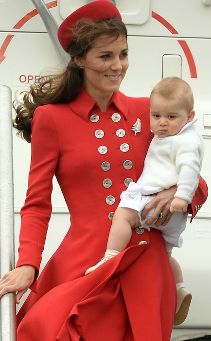 Duchess Catherine, Prince William, Prince George, Kate Middleton