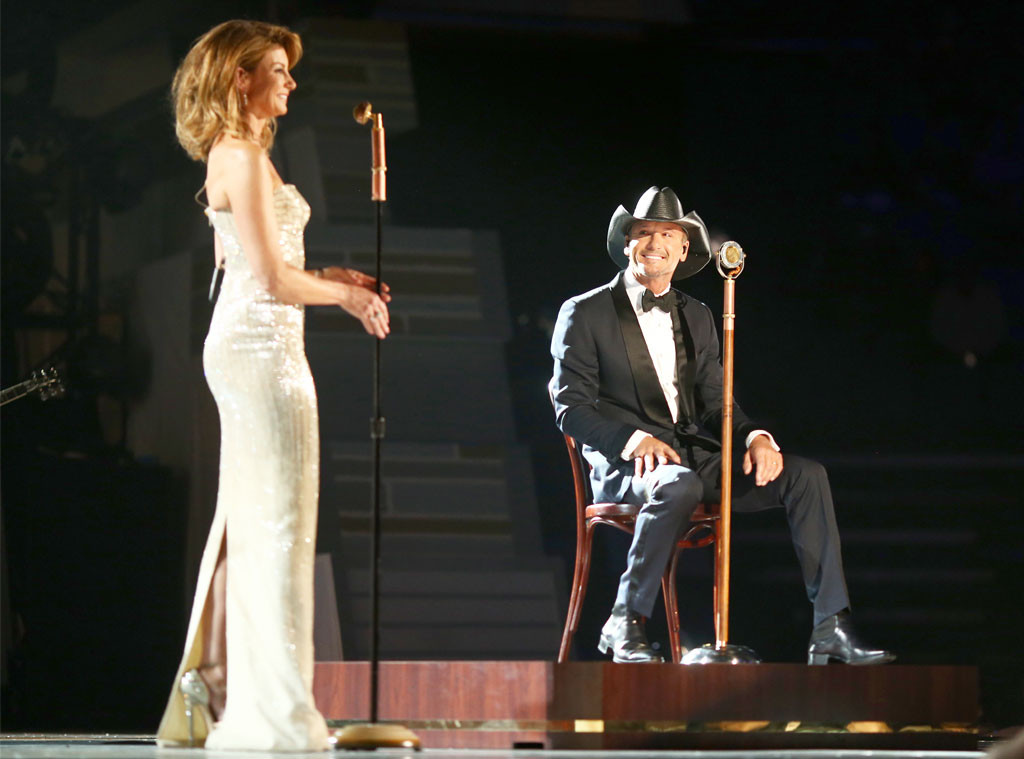 Faith Hill, Tim McGraw, ACM Awards