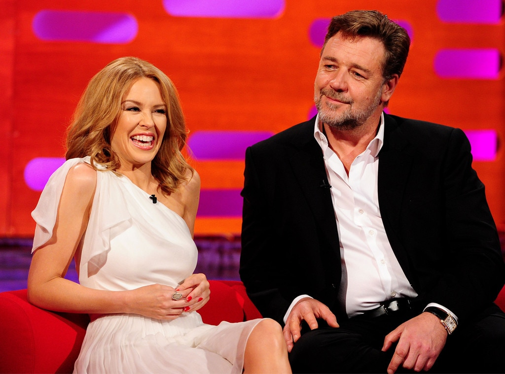 Kylie Minogue, Russell Crowe
