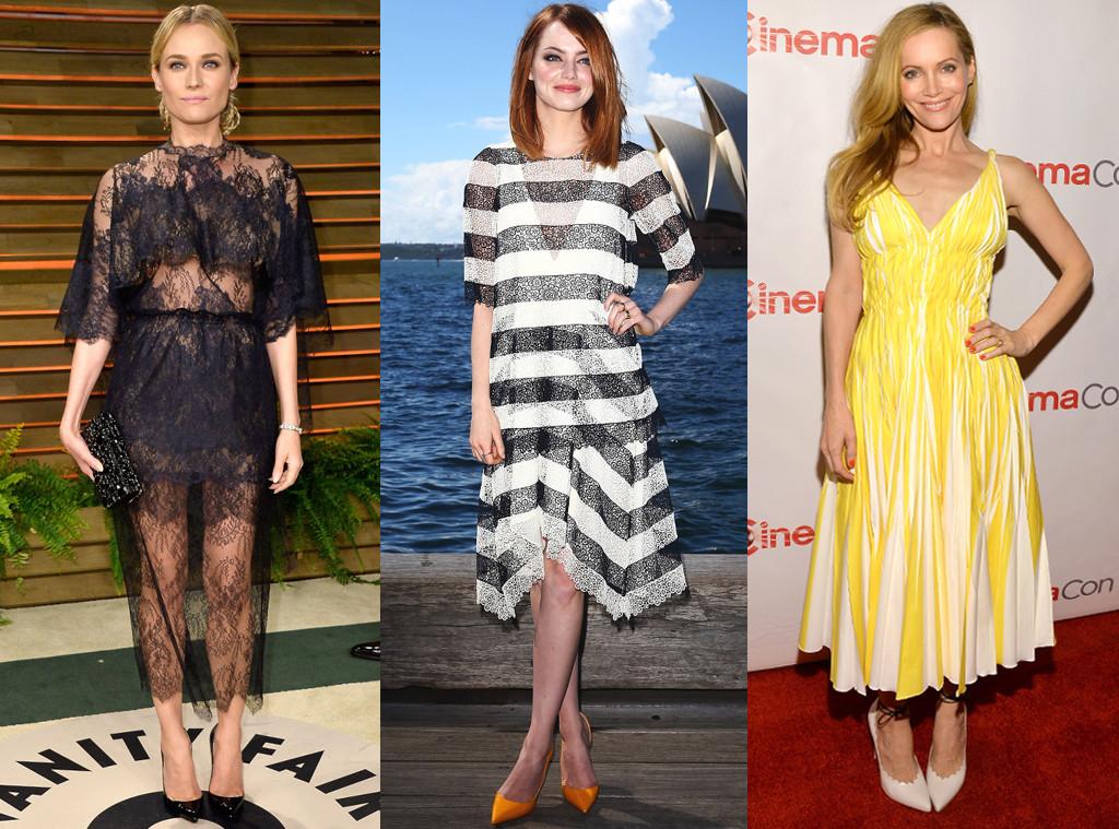 Diane Kruger, Emma Stone, Leslie Mann