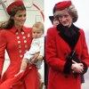 Duchess Catherine, Prince George, Kate Middleton, Princess Diana