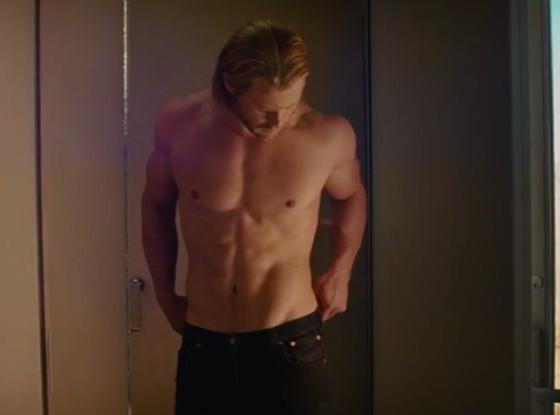 Marvel, Shirtless
