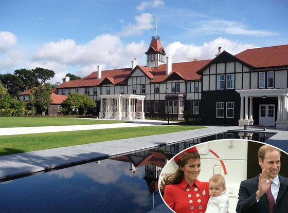 Government House, Duchess Catherine, Prince William, Prince George, Kate Middleton