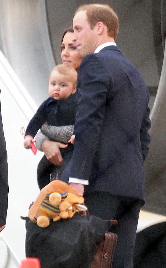 Duchess Catherine, Prince William, Prince George, Kate Middleton