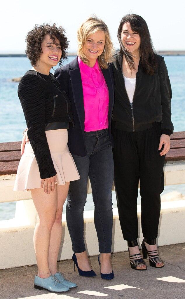 Ilana Glazer, Amy Poehler, Abbi Jacobson