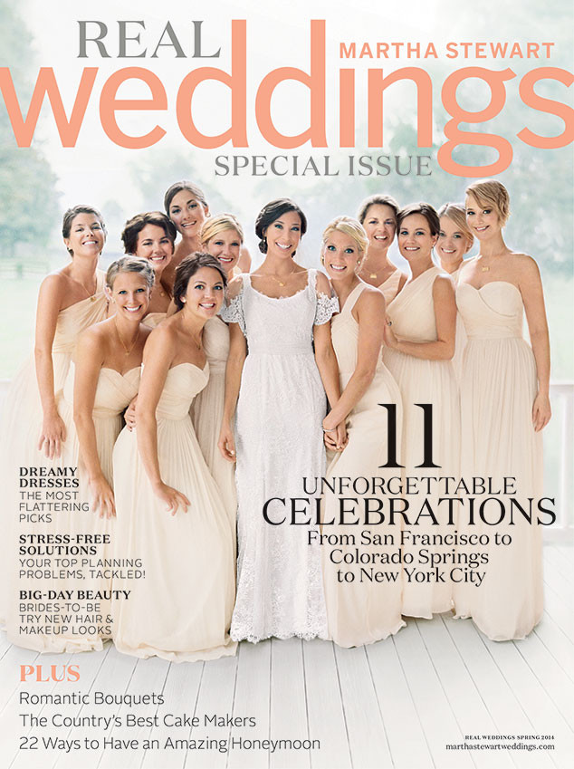 Jennifer Lawrence, Martha Stewart Weddings