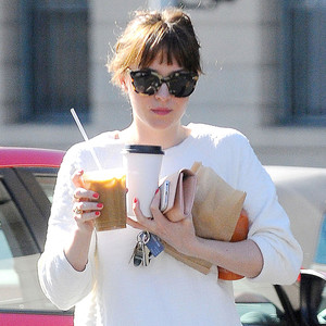 Dakota Johnson Has Her Hands Full While Running Errands in ...