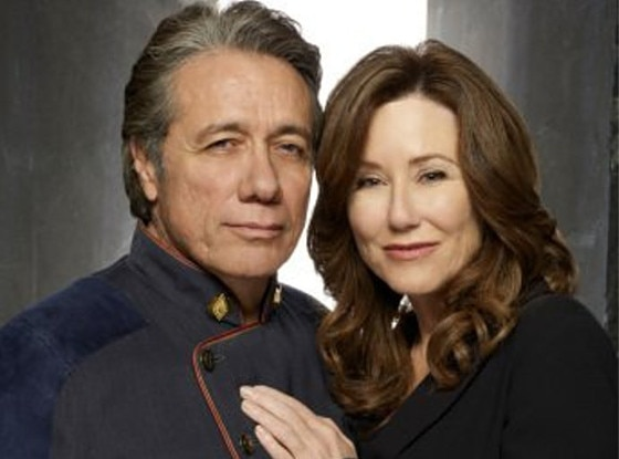 Edward James Olmos, Mary McDonnell, Battlerstar Galactica