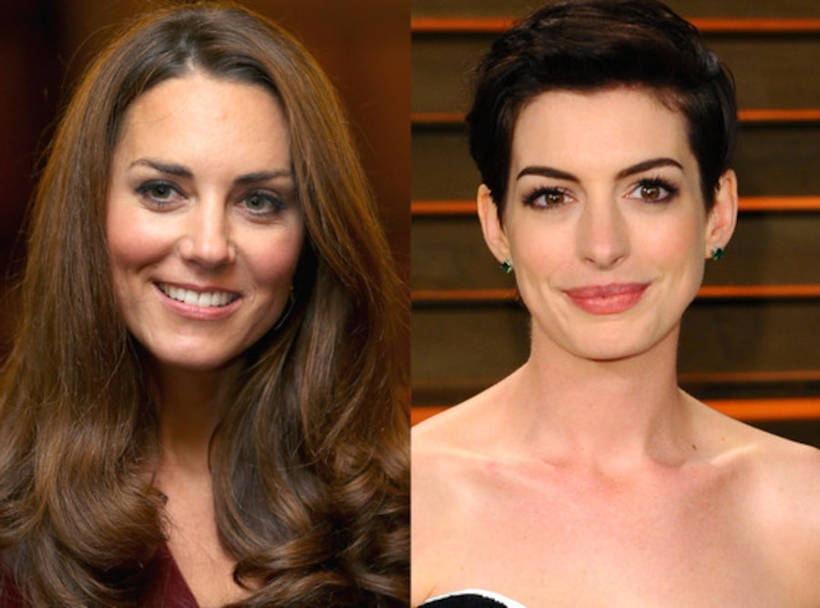 Kate Middleton, Anne Hathaway
