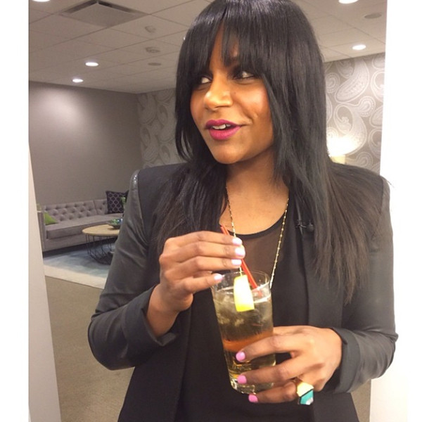 Mindy Kaling, Bangs