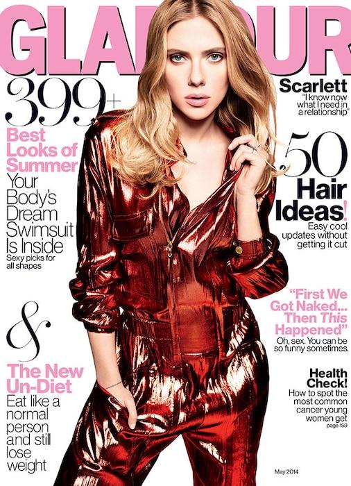 SCARLETT JOHANSSON, Glamour Magazine