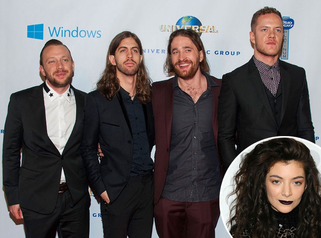 Imagine Dragons, Lorde