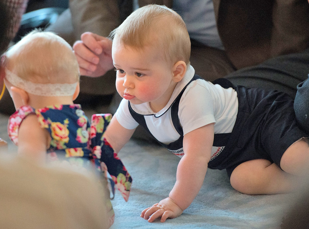 Prince George, Faces