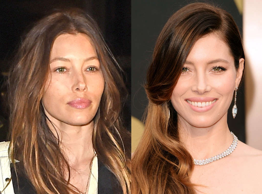 Jessica Biel, No Make-Up
