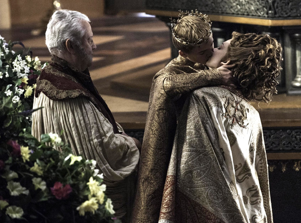 Joffrey and Margaery seal their union with a kiss from ...