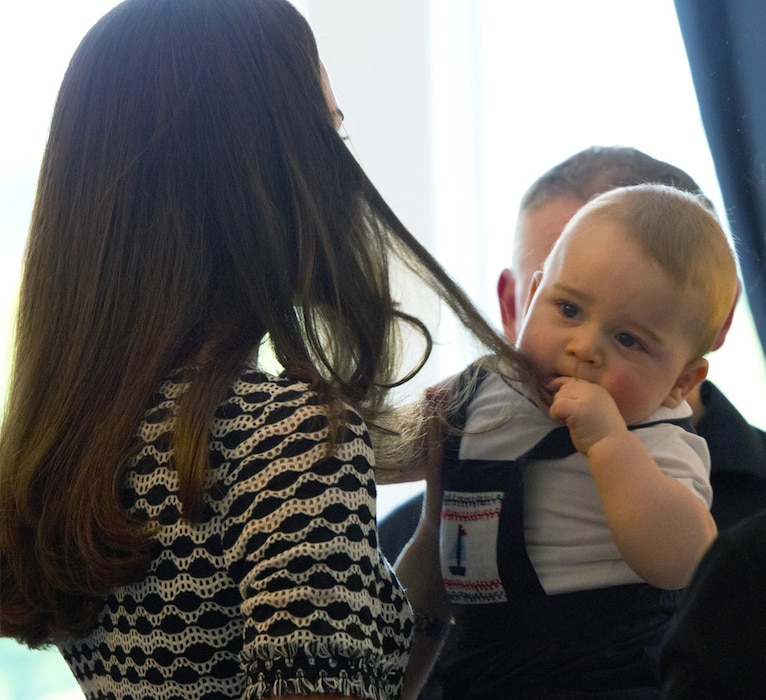 Prince George of Cambridge, Duchess Catherine, Kate Middleton