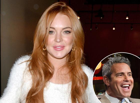 Andy Cohen, Lindsay Lohan