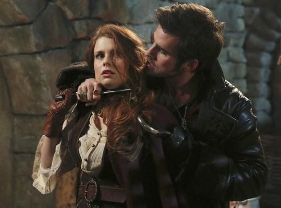 We Can't Stop Watching Hook and Ariel's Heated Once Upon a ...