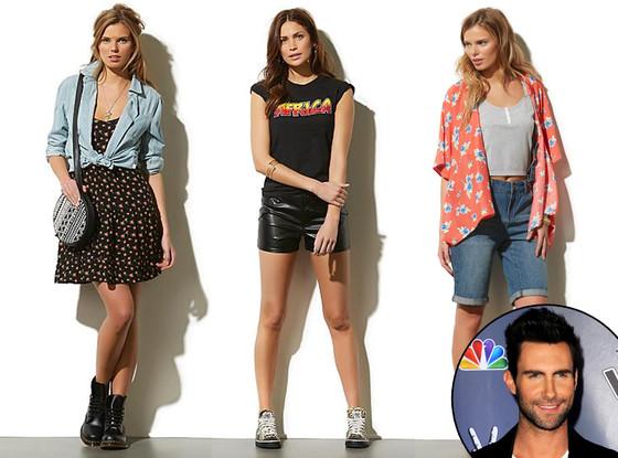Adam Levine Kmart Fashion Line