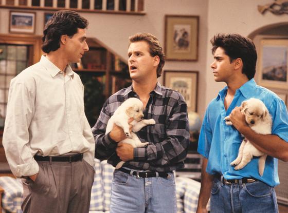 John Stamos, Dave Coulier, Bob Saget, Full House