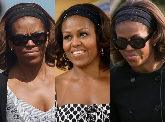 Michelle Obama, Headband