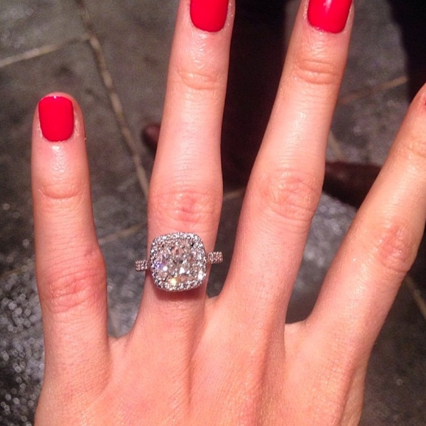 Katherine Webb Instagram Engagement Ring