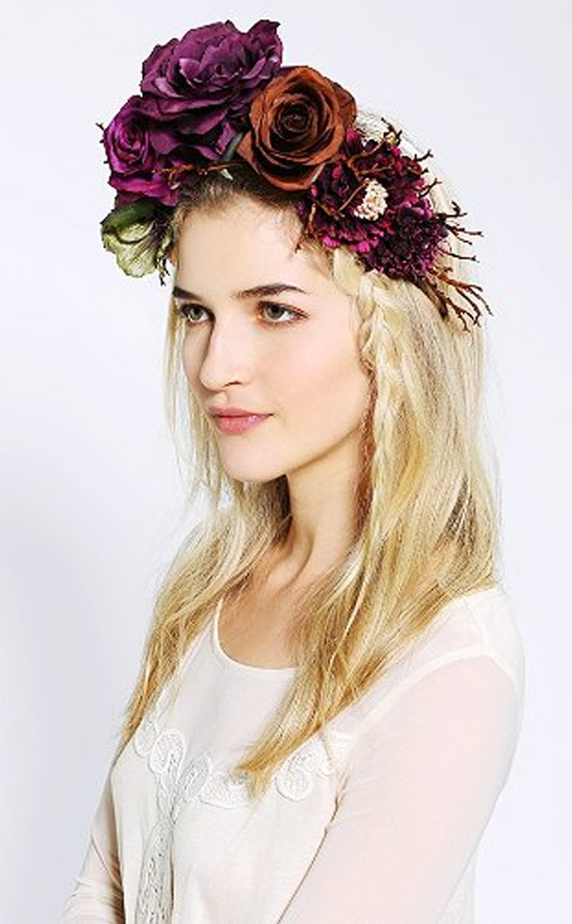 Katie Burley Millinery Woodland Queen Flower Crown Headwrap, Flower Crowns