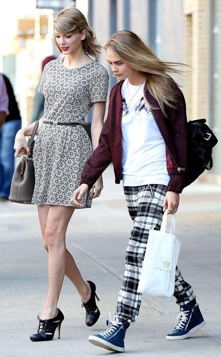 Taylor Swift, Cara Delevingne