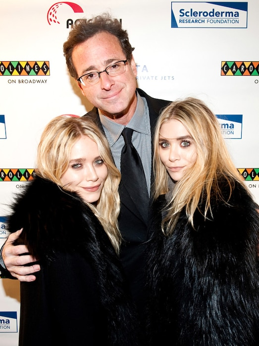 Mary-Kate Olsen, Bob Saget, Ashley Olsen