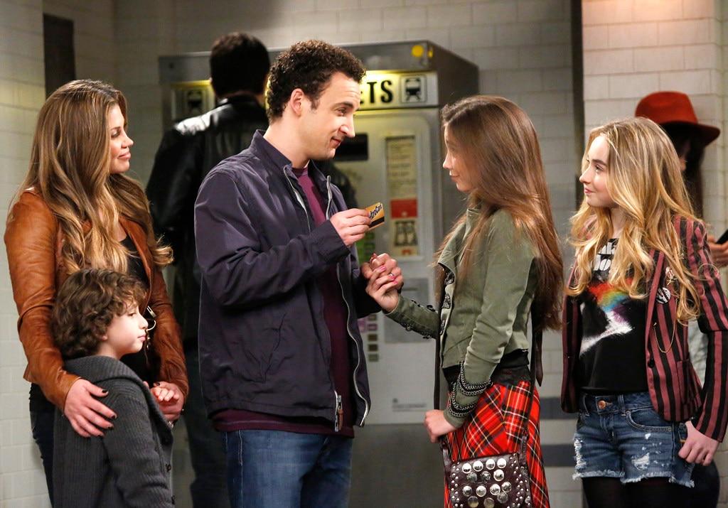 Girl Meets World, Sabrina Carpenter, Rowan Blanchard, Ben Savage, Danielle Fishel