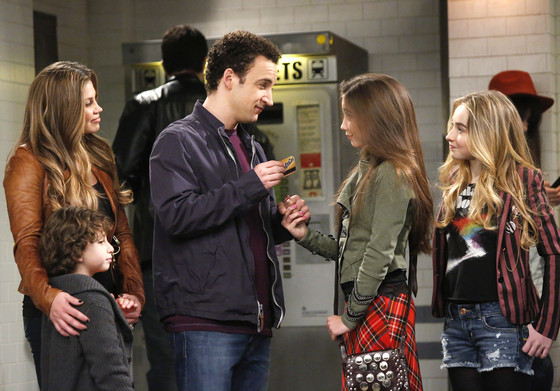 Girl Meets World, Sabrina Carpenter, Rowan Blanchard, Ben Savage, Danielle Fishel