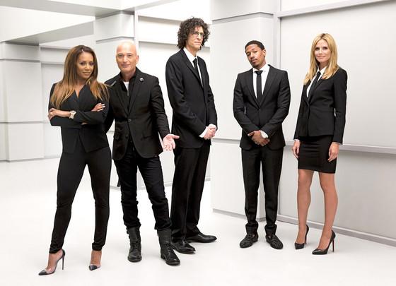 America's Got Talent, Mel B, Howie Mandel, Howard Stern, Nick Cannon, Heidi Klum
