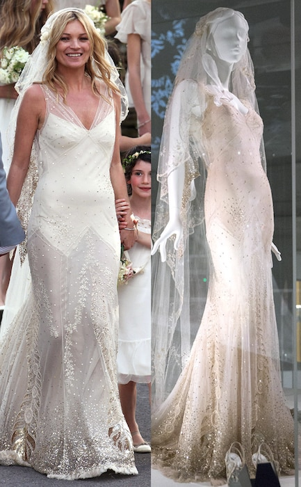 Kate Moss, Wedding Dress, V & A Museum