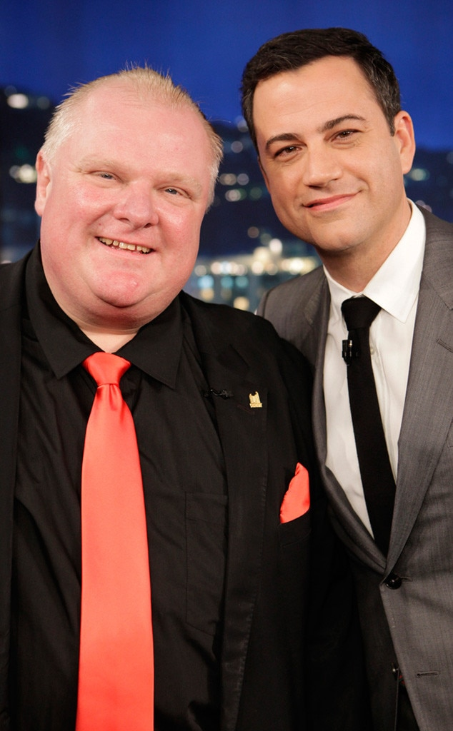 Rob Ford, Jimmy Kimmel